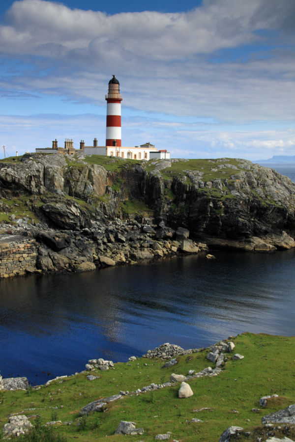Eilean Glas Lighthouse, Isle of Scalpay. Harris