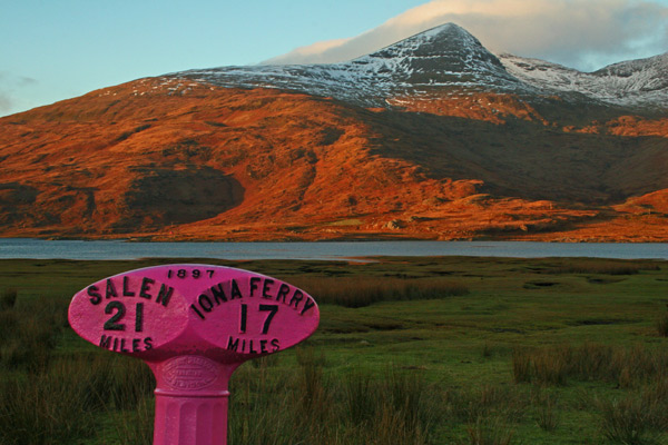 Ben More and Pink Mileage