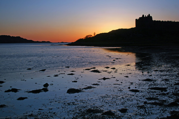 Castle Tioram Sunset