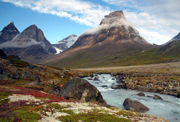 Dronning Marie Dal, Skjodungen Island, East Greenland