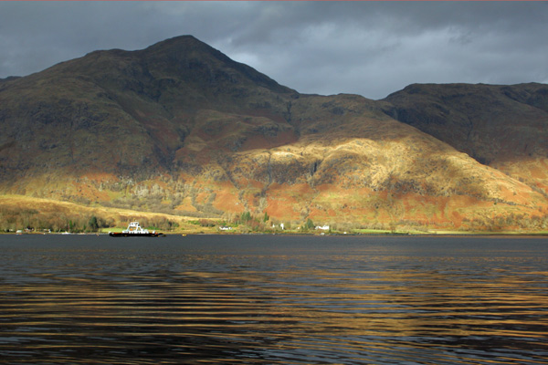 View towards Morvern from Corran Ferry
