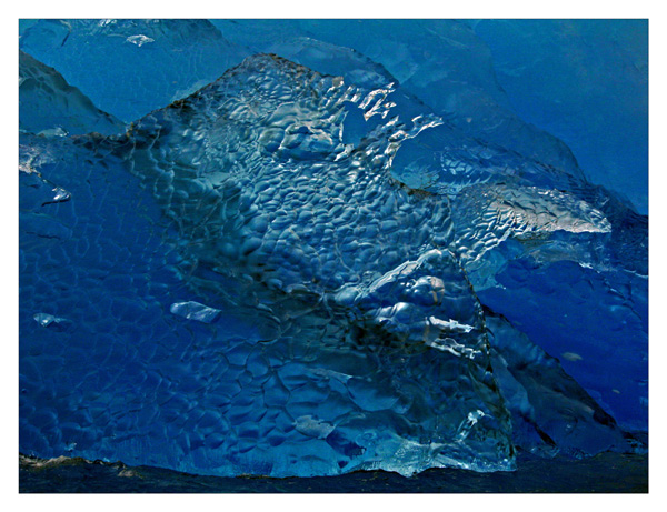 Blue Berg Detail - Napassorsuaq Fjord