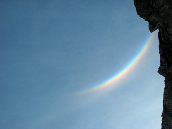 Half Rainbow - Balder Fjord