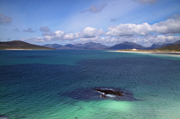 First sight of Luskentyre