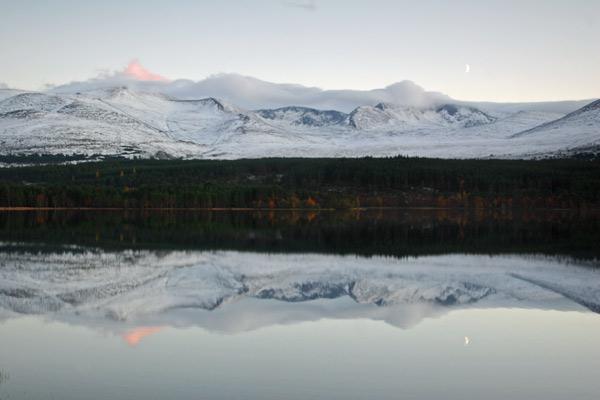 Loch Morlich in Winter