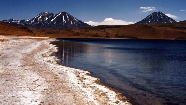 Lago and Volcanoes - Atacama