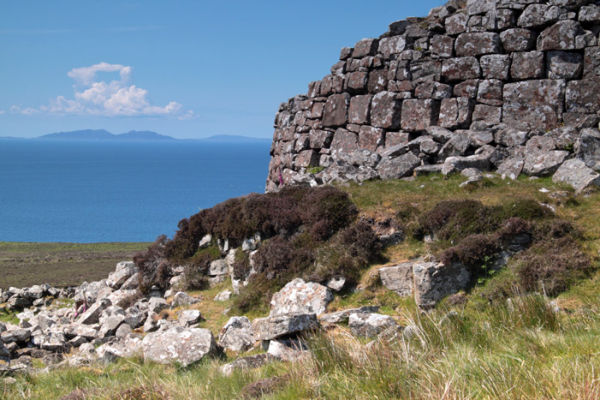 Remains of a Broch, Waternish.