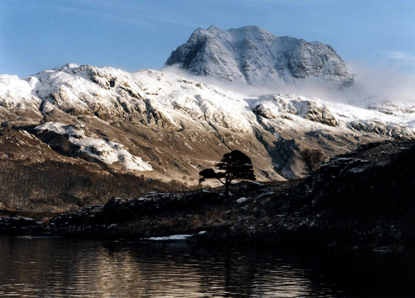 Slioch Snow Capped - Wester Ross