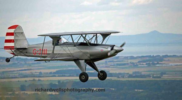 Biplane Flypast
