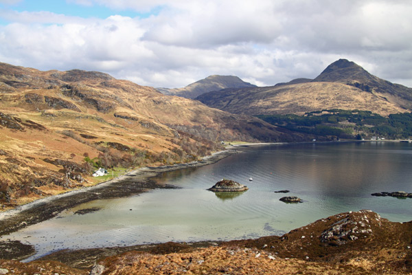 Towards Inverie from the Headland