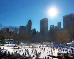 Ice-Skating in Central Park