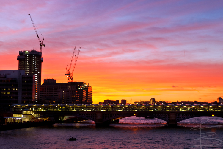 Blackfriars Sunset