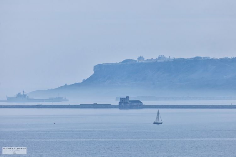 Portland Harbour in the Mist