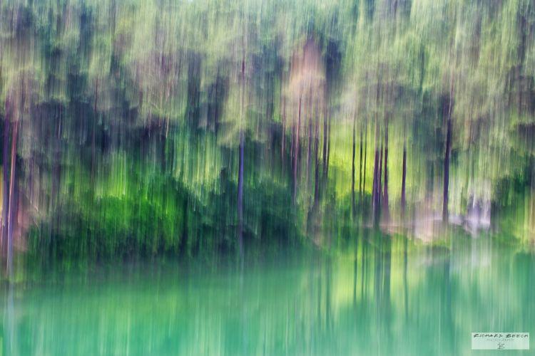 Blue Pool Blur