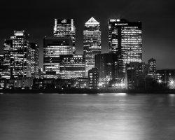 Canary Wharf Monochrome