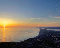 Chesil Beach Sunset