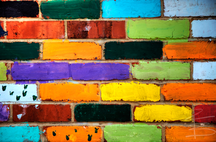 Colours on the Wall