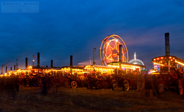 Blue Hour Steam Engines