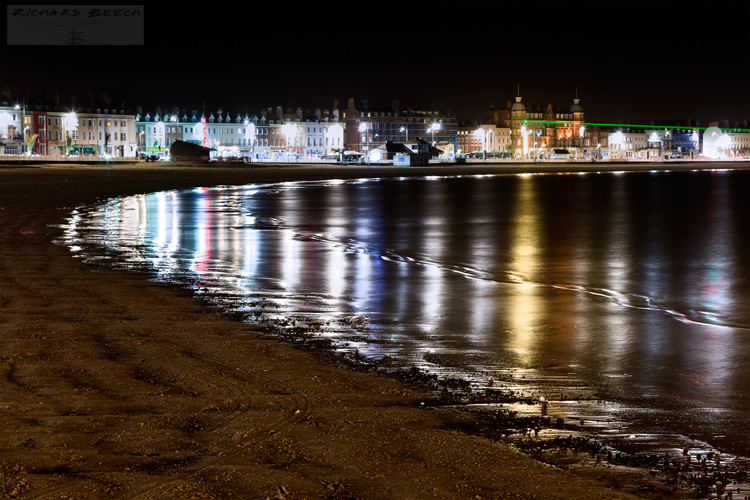 Weymouth Bay Night Lights