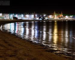 Weymouth Bay Night Lights