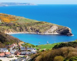 Looking Down to Lulworth
