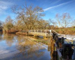 Sturminster Newton Footbridge