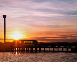 Pleasure Pier Sunset