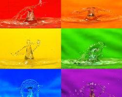 Pop Art Water Drop