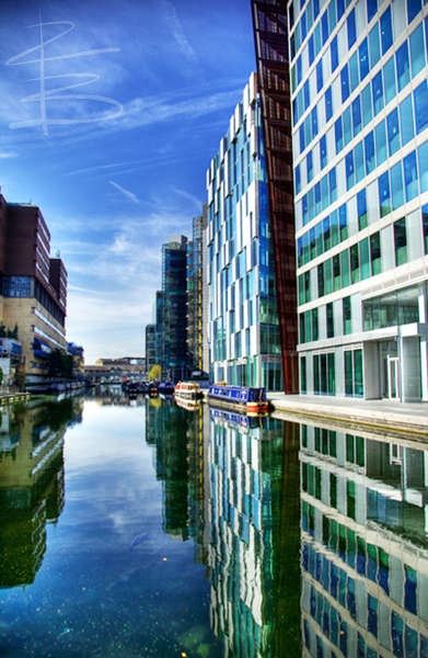 Paddington Basin Reflections