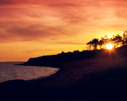 Ringstead Bay Sunset