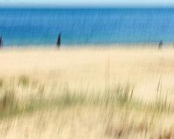 Studland Beach Blur