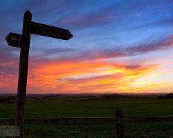 Sunset, That Way ...