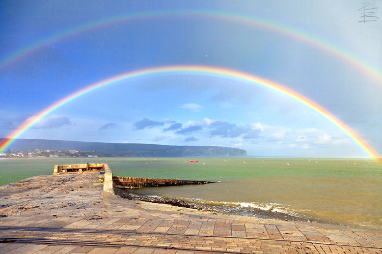 Swanage Double Rainbow