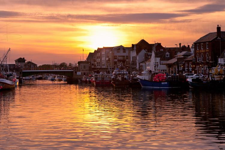 Town Bridge Sunset