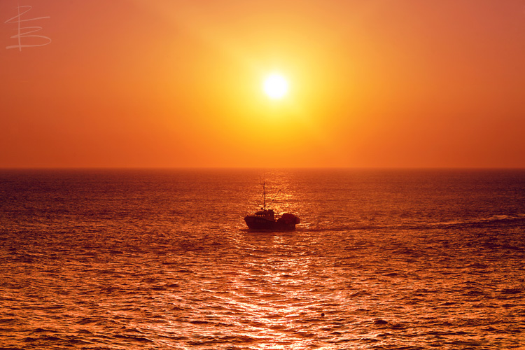 Trawler Sunset