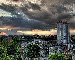 NW London Sunset