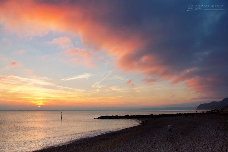 West Bay Winter Sunset