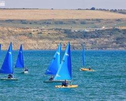 Sailing in Weymouth Bay