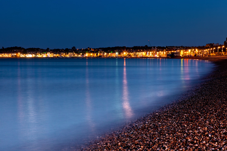 Weymouth Bay by Night