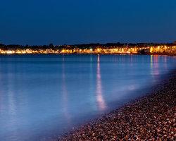 Weymouth Bay by Night