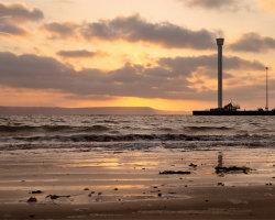 Weymouth Tower Sunrise