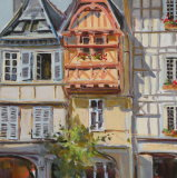 Quimper Brittany Pastel  ( not in print)