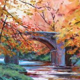 Autumn at Holne bridge