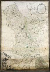 Burdett's map of Derbyshire