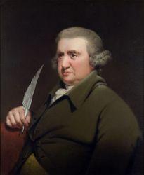 Joseph Wright's Erasmus Darwin