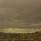 09-002-025-1955 - Slad Valley, approaching storm 1