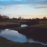 Evening, River Churn near Siddington, Gloucestershire