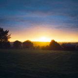 Glow of dusk, Hampshire