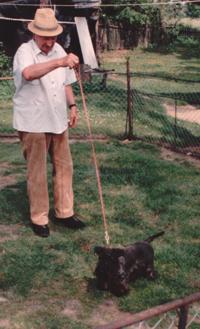 Mr Horak with Fantasie Lovu zdar in 1992
