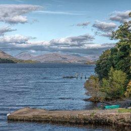 Loch Awe Boat Ramp